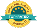 donate to peta top-rated great non profits logo