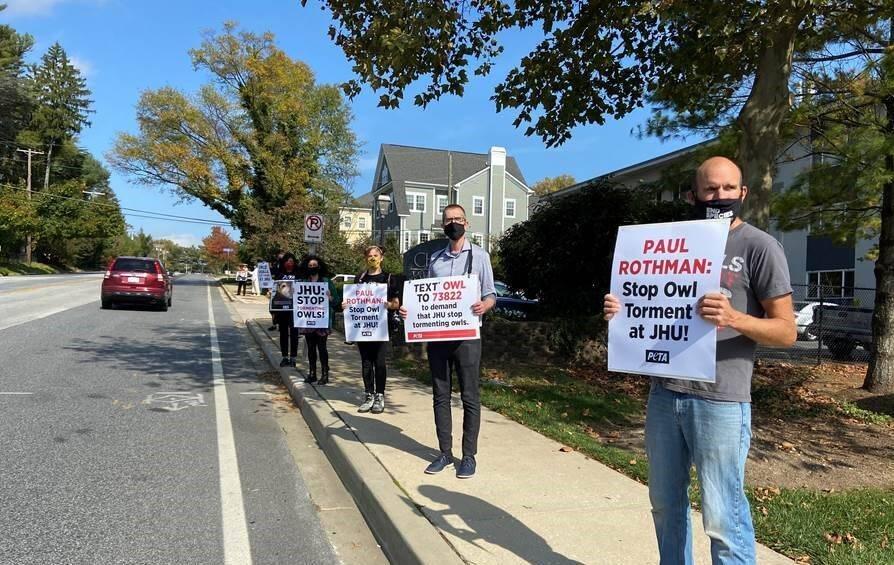 Johns Hopkins University Protest