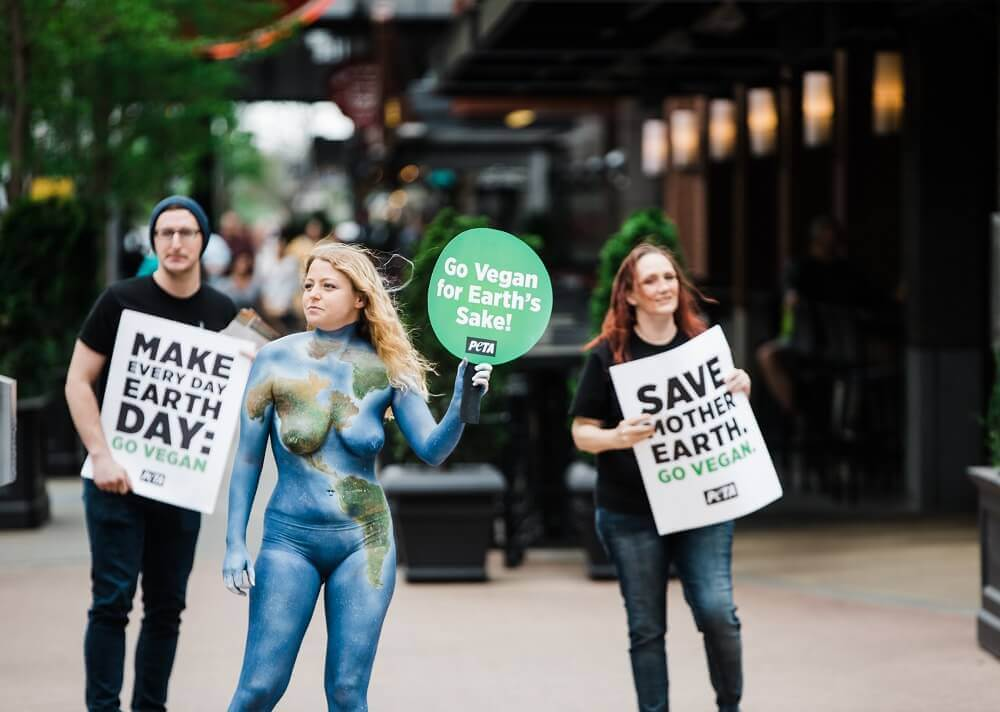 Earth Day 2021: Stick a Fork in Climate Change—Go Vegan | PETA