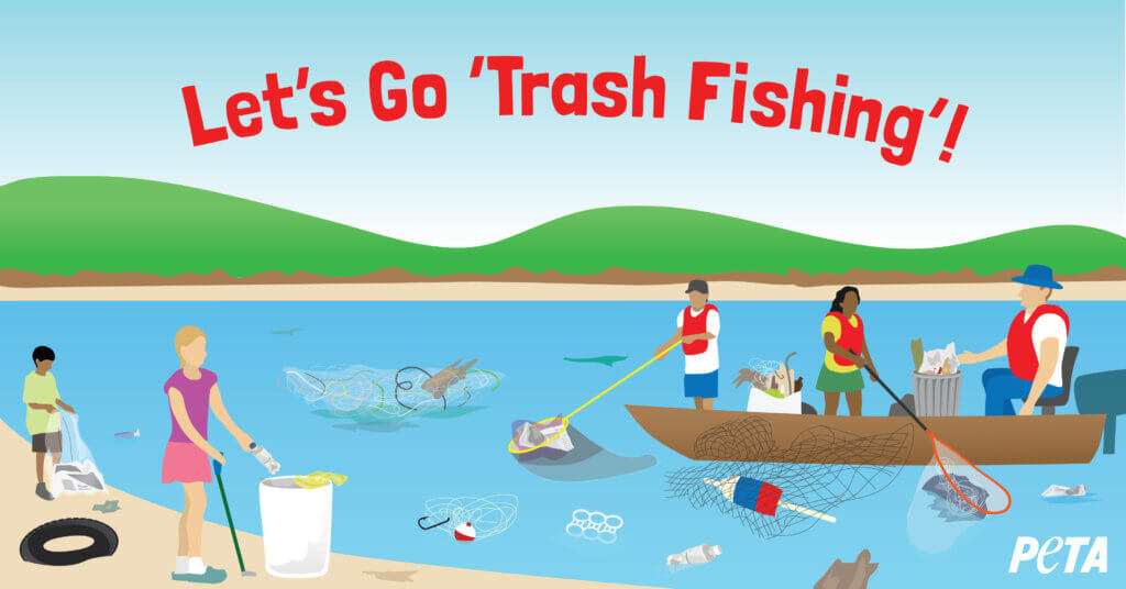 What is trash fishing? a new eco- and animal-friendly hobby