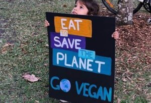 eat to save the planet vegan earth day peta 2021